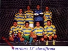 2000 2001 cappuccini Warriors