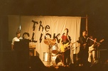 1980 circa THE CLICKS in concerto